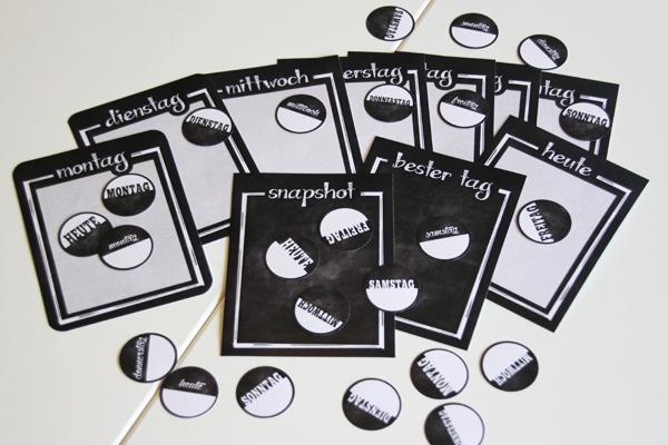 freebie #01 - Chalkboard Woche