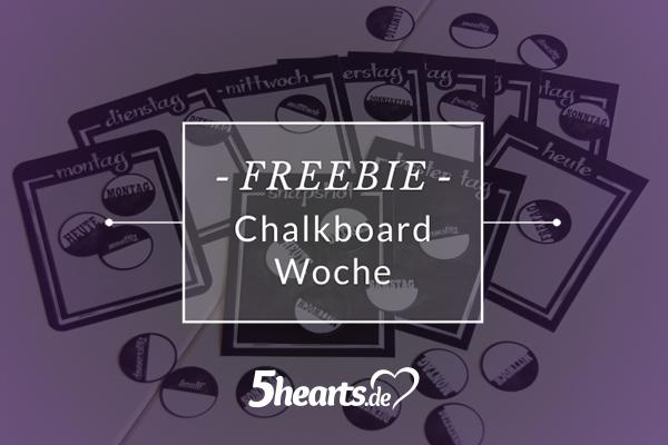{freebie} PL01 - Chalkboard Woche