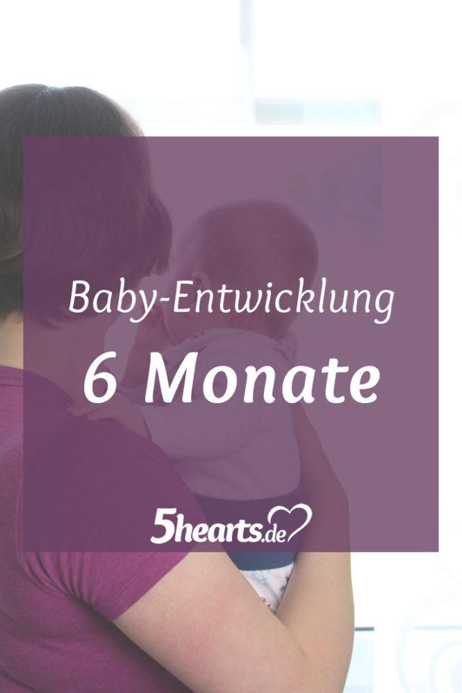 6 Monate Baby - wie unser Sohn sich entwickelt
