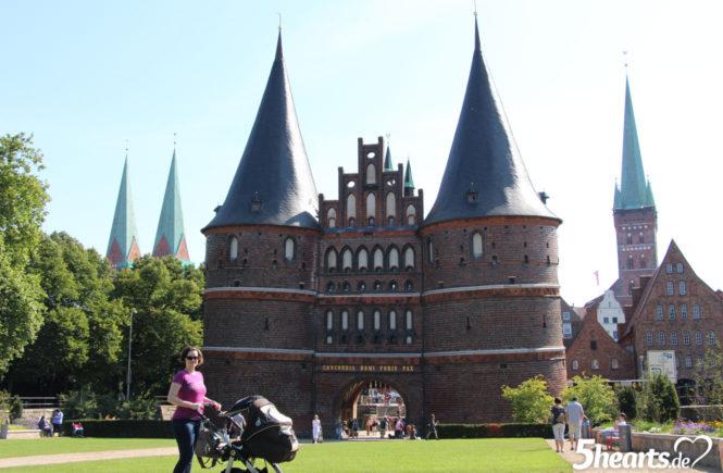 Urlaub mit Baby - im Hotel an der Oststee - Ausflug nach Lübeck